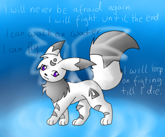 Twilight The white eevee by TwilightTheEevee