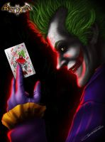 Pick A Card - Joker - Arkham Asylum by GrandMaster-J5