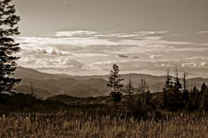 Trinity Mountains... by melly4260