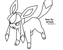 ~*~Glaceon Base 2~*~ by WinterTheGlaceon45