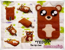 Teddy d Hp Case... by SongAhIn