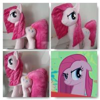 My Little Pony Pinkamena Plushie Commission by CINNAMON-STITCH