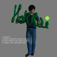 C Hakkai 3D with Sign by ibr-remote