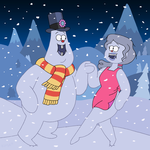 Soos and Melody's Winter Wonderland by nerdsman567