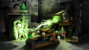 LEGO Monster Fighters - Crazy Scientist by RobKing21