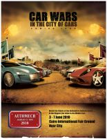 Automech 2010 car wars ad 1 by myounis