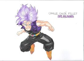 Future Trunks (Dragonball Z) by CobraxKinana