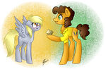 Derpy and Cheese Sandwich Request by peaceouttopizza23