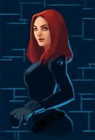 Marvel: Black Widow by LucidOrange