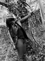 Katniss Cosplay-Shoot girl! by celticbard76