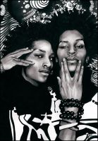Les Twins by allegator