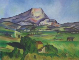 Mont St. Victoire by DontDeconstruct