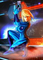 Samus Aran by digitalninja