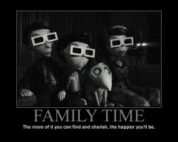 Family Time Motivational Poster by QuantumInnovator