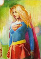 Supergirl 1 by LuisDiazArtist