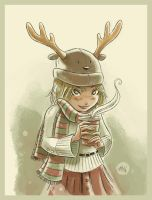 Reindeer Hat by mikemaihack