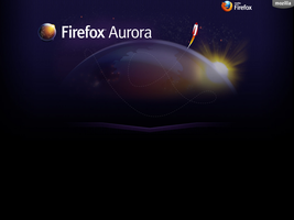 Firefox Aurora Official Wallpaper by RivenRoth740