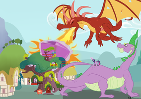 Day of the Dragons by KyojiOgami