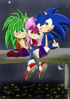 :.Sonic Underground Brake.: by PhoenixSAlover