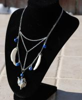 Canis Lupus - Necklace by kittykat01