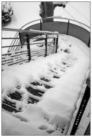 Winter Stairs by TheCorry