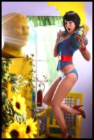 Snow White Bakini Shoot by bobajaaintjie