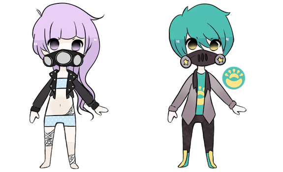 gas mask adopts [closed] by ryanisnasty