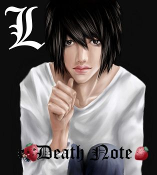 Death Note: L by ChibiTachi