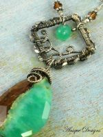 Tropical Chrysoprase by AniqueDesigns