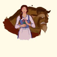 Beauty and the Beast - WIP by pieconspiracy