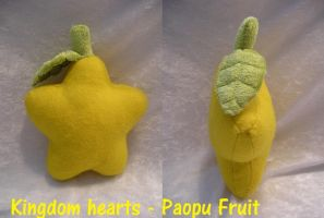 KH - Paopu Fruit plush by MidnightZero