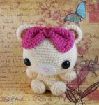 Kawaii Bear Amigurumi by SailorMiniMuffin