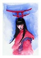 Torii - The Guardian by hypnothalamus