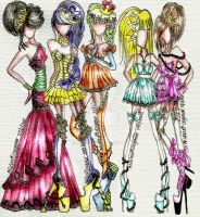 Princess Fashion by AlirizaDesign