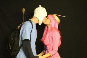 Finn and Princess Bubblegum by Kimmyo801