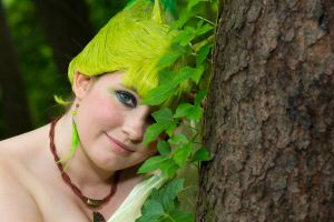 Celebi used Growth! by vicious-cosplay