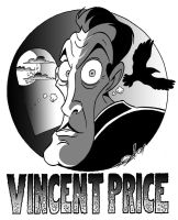 Vincent Price Caricature by JayFosgitt