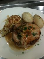 Stuffed Cornish Hen by kristinyates