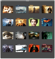 Movie folder icons by n00men
