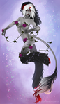 The Flower Dance (Softshade commission) by Flesh-Odium