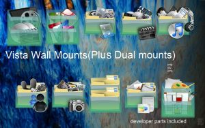 Vista Wall Mounts by centpushups