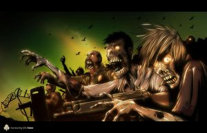 Zombie Art 2 by delucia44
