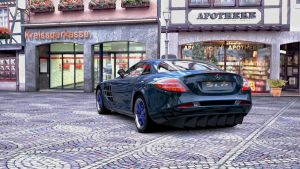 Mercedes Benz SLR Mclaren GT5  5 by whendt