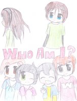 TAS manga: Who Am I? Title Page by mamoru14