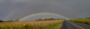 Panorama Rainbow by TimberClipse