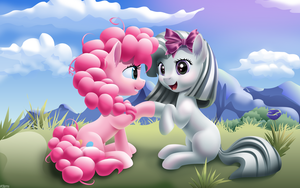 Pinkie and Inkie by iOVERD