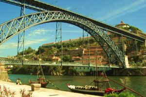 a bridge in Porto by Closer-To-You