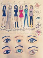 Divergent Female Outfit Designs by Sugarcubes88