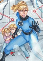 Women of Marvel, Invisible Woman by Dangerous-Beauty778