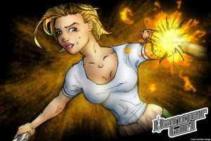DangerGirl - Abbey - Color by Menge